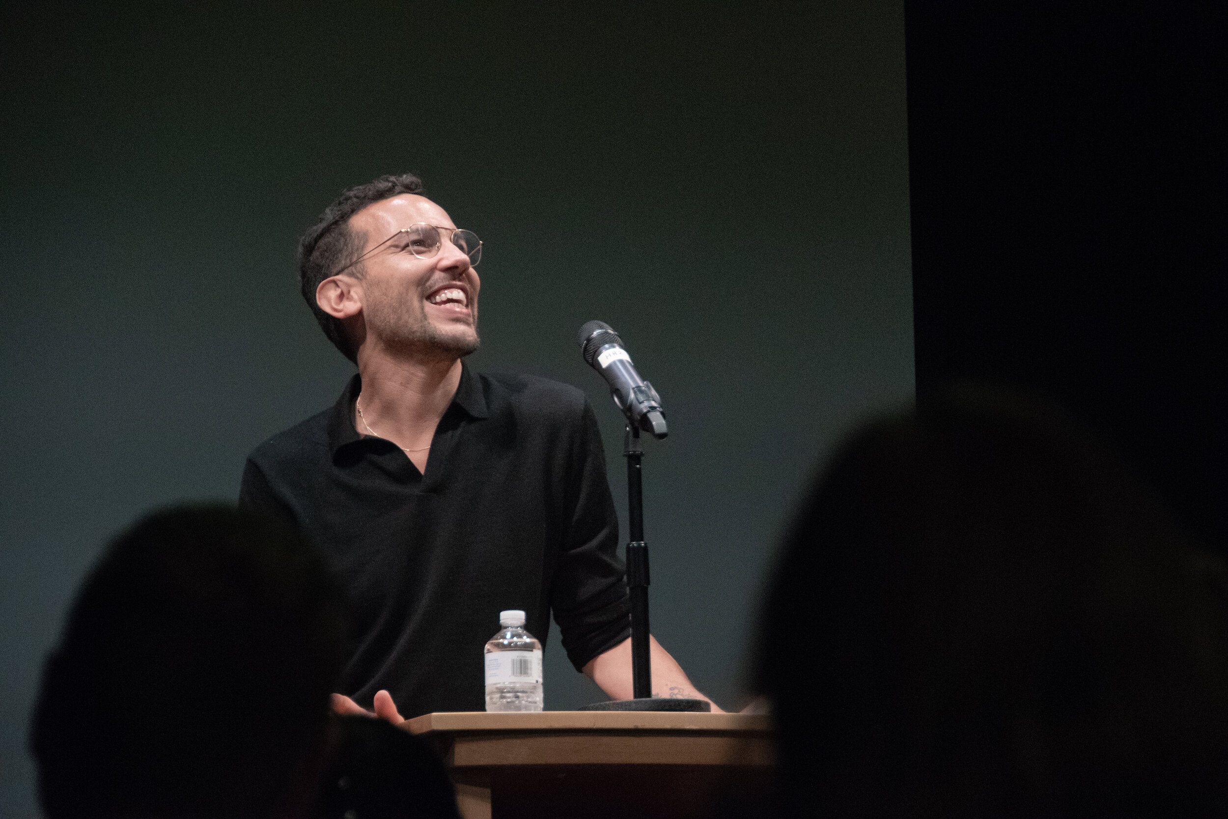 UConn's Creative Writing Program hosts speaker Justin Torres at the Barns & Noble in Stores Center this Tuesday. Torres read selected portions of his new novels and some older work, as well as conducting a Q&A with audience members.  Photo by Avery Bikerman / The Daily Campus