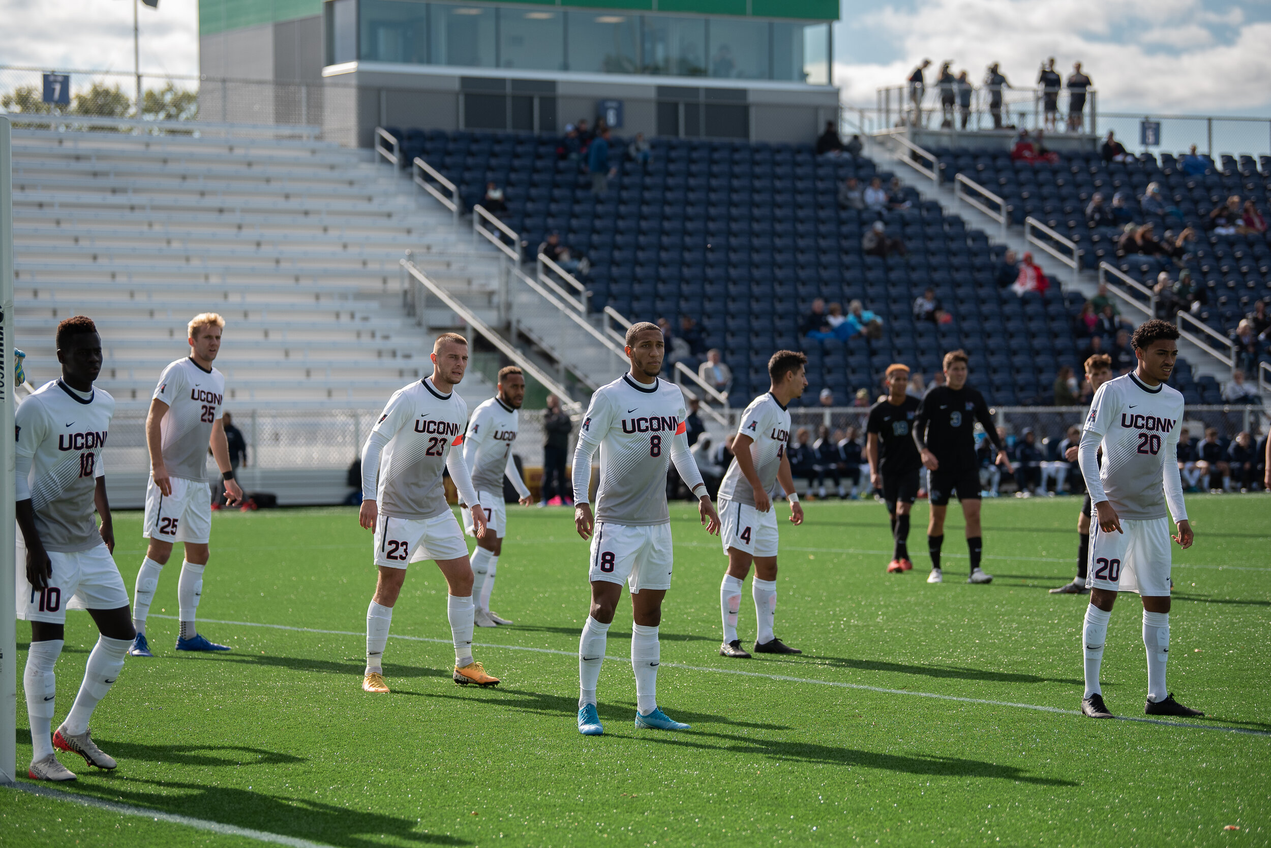 UConn men's soccer team suffered a two-game losing streak. The team was defeated by Memphis and Providence.  Photo by Eric Yang/The Daily Campus