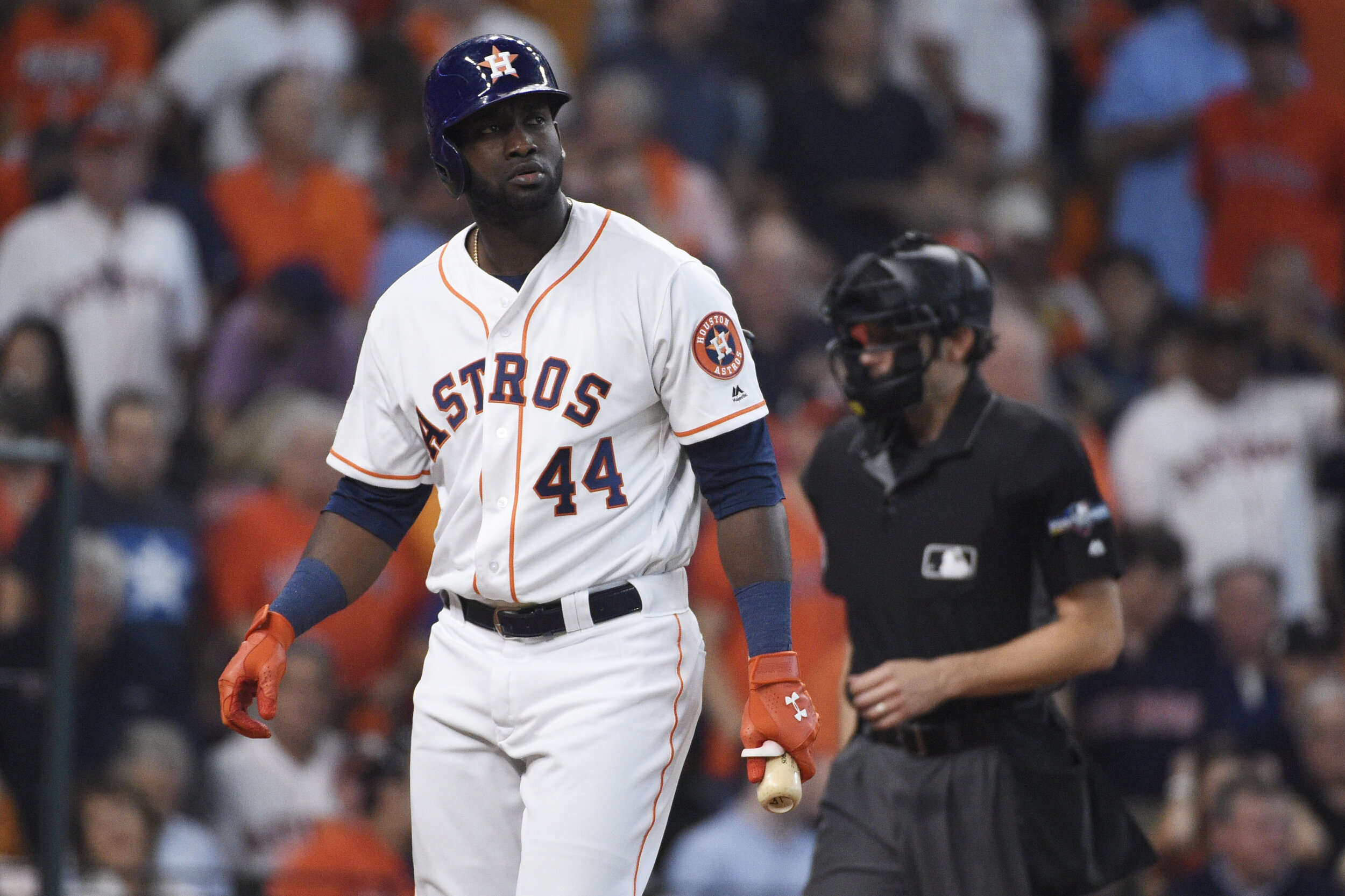 Alvarez got off to a hot start and never slowed down, putting up some incredible numbers that should earn him the AL ROTY award.  Photo from the Associated Press.