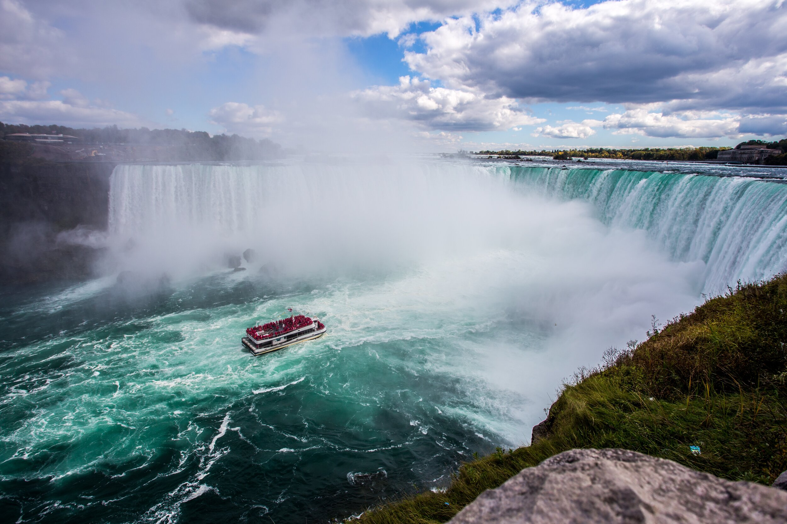 On Oct. 24, 1901, 118 years ago, Annie Edson Taylor took the first barrel ride down Niagara Falls.  Photo by  Kalen Emsley  on  Unsplash .