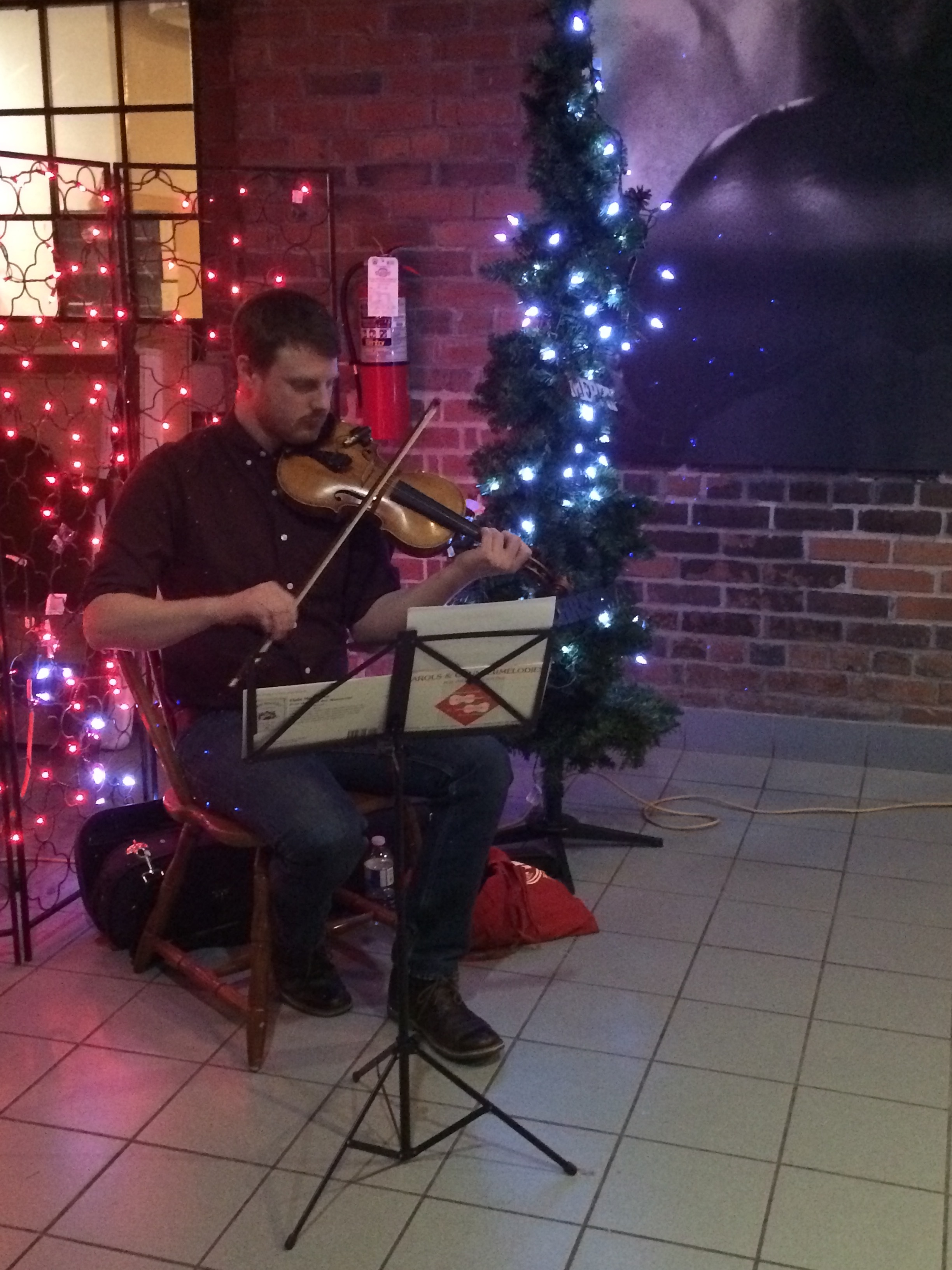 Wonderful entertainment at TCOOR's 2nd Annual Holiday Party