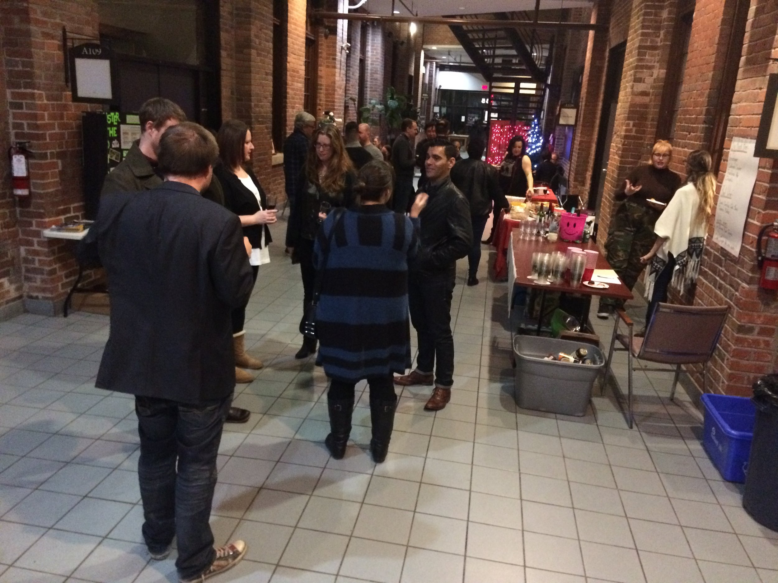 T-COOR's 2nd Annual Holiday Party at Film Port in December 2017