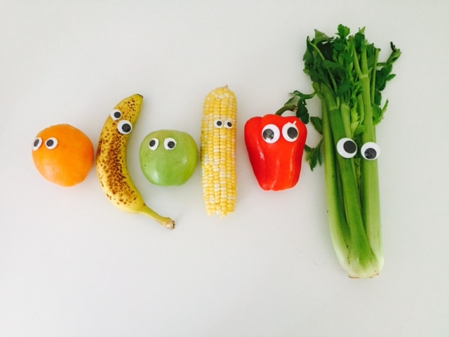 Why is it so much fun to put googly eyes on produce?!  Try it some time.  I love these buddies.
