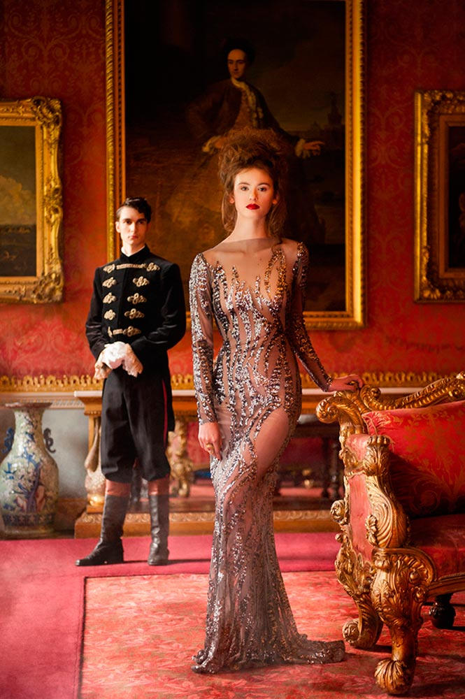 Fashion Editorial featured in Cheshire Life Magazine