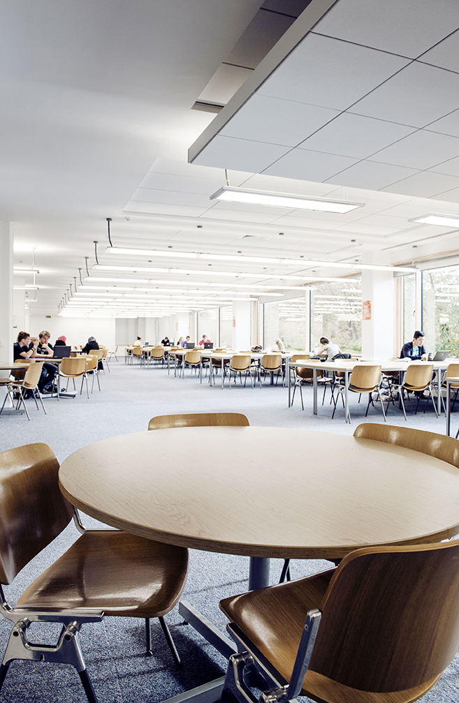 Commercial Interior Photography MMU Library Morris Spottiswood