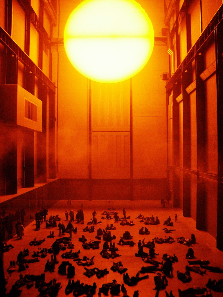 Weather Project Turbine Hall Tate Modern 2003