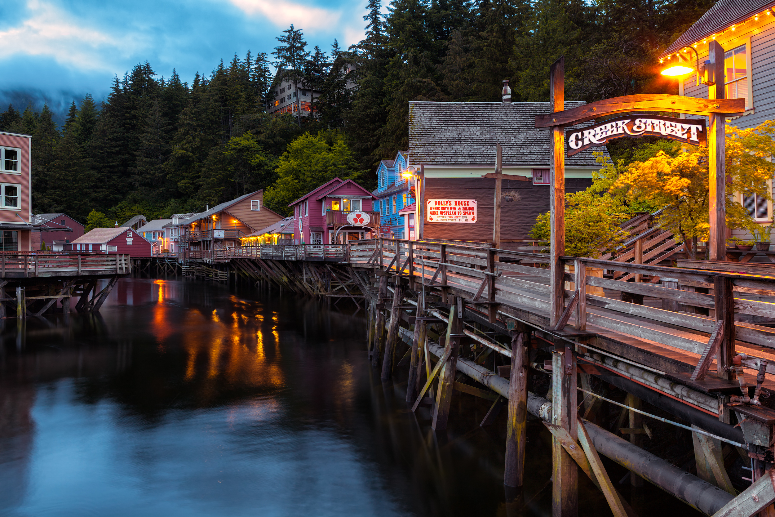 I know I already posted a shot of Creek Street, but this is an iconic image and I couldn't leave Ketchikan without taking a stab at it. I absolutely love the way this shot turned out.Shot with Canon 5d Mark II