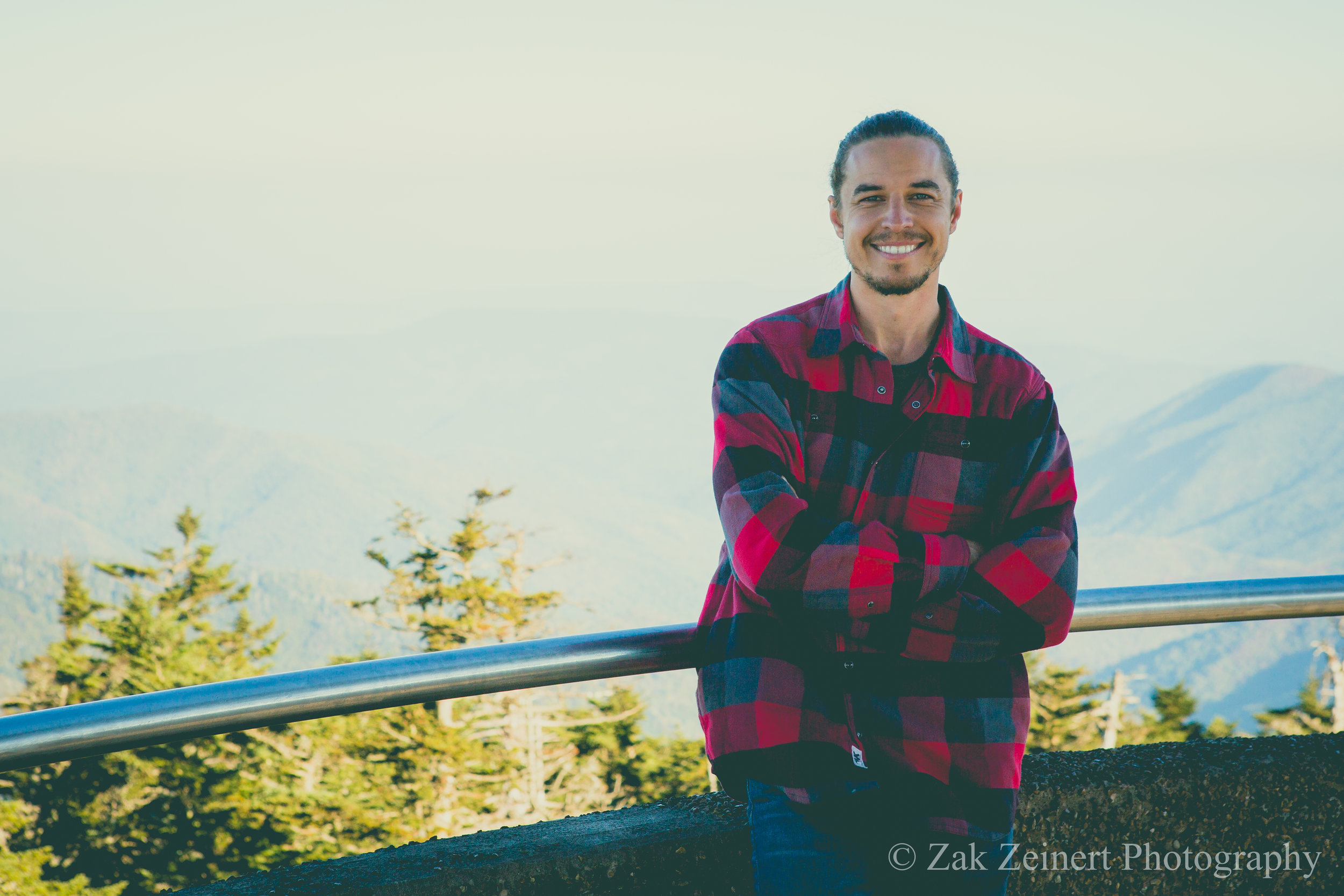 From the top of Clingman's Dome on a clear day