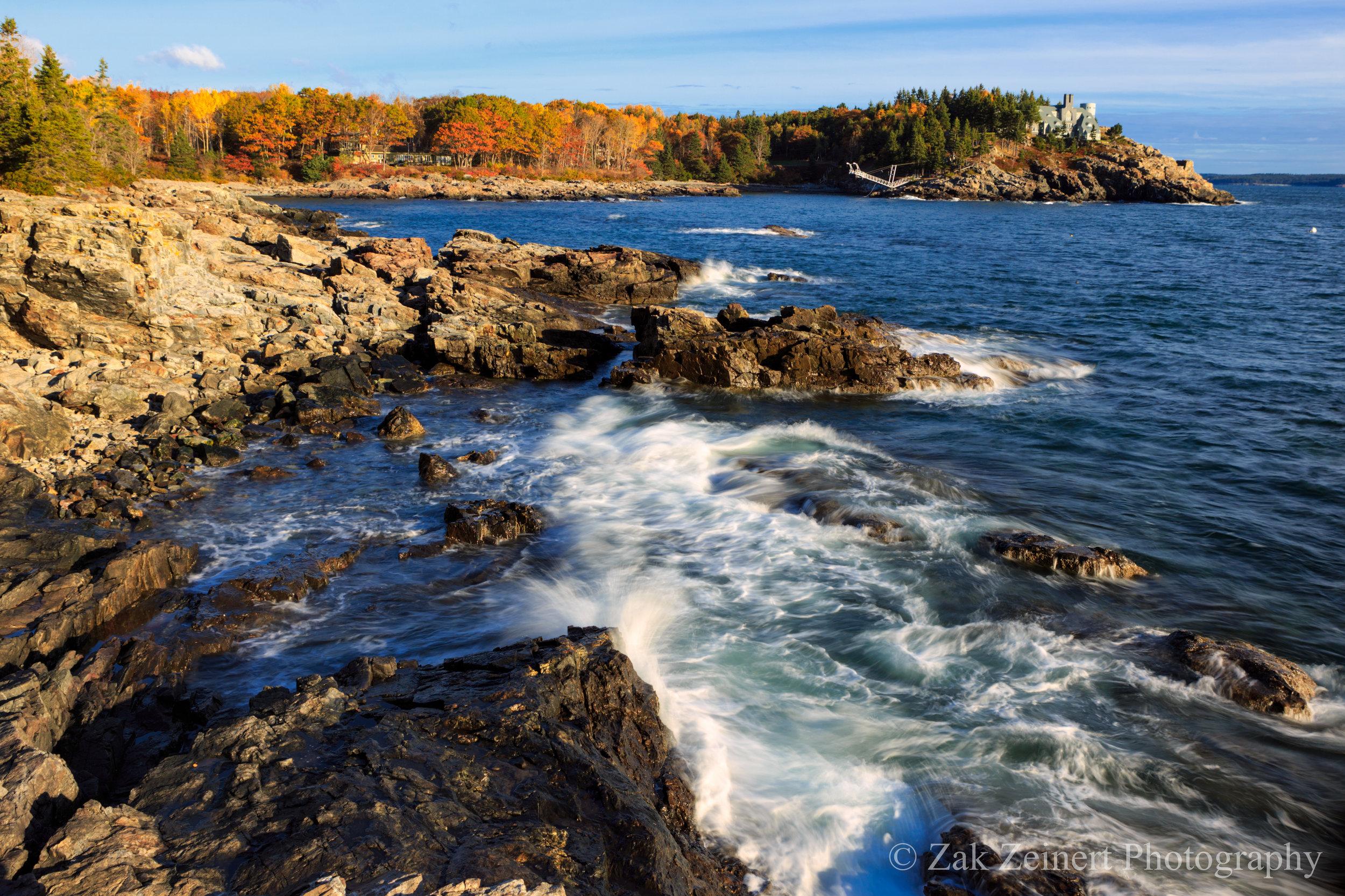 New England Coastline in Acadia