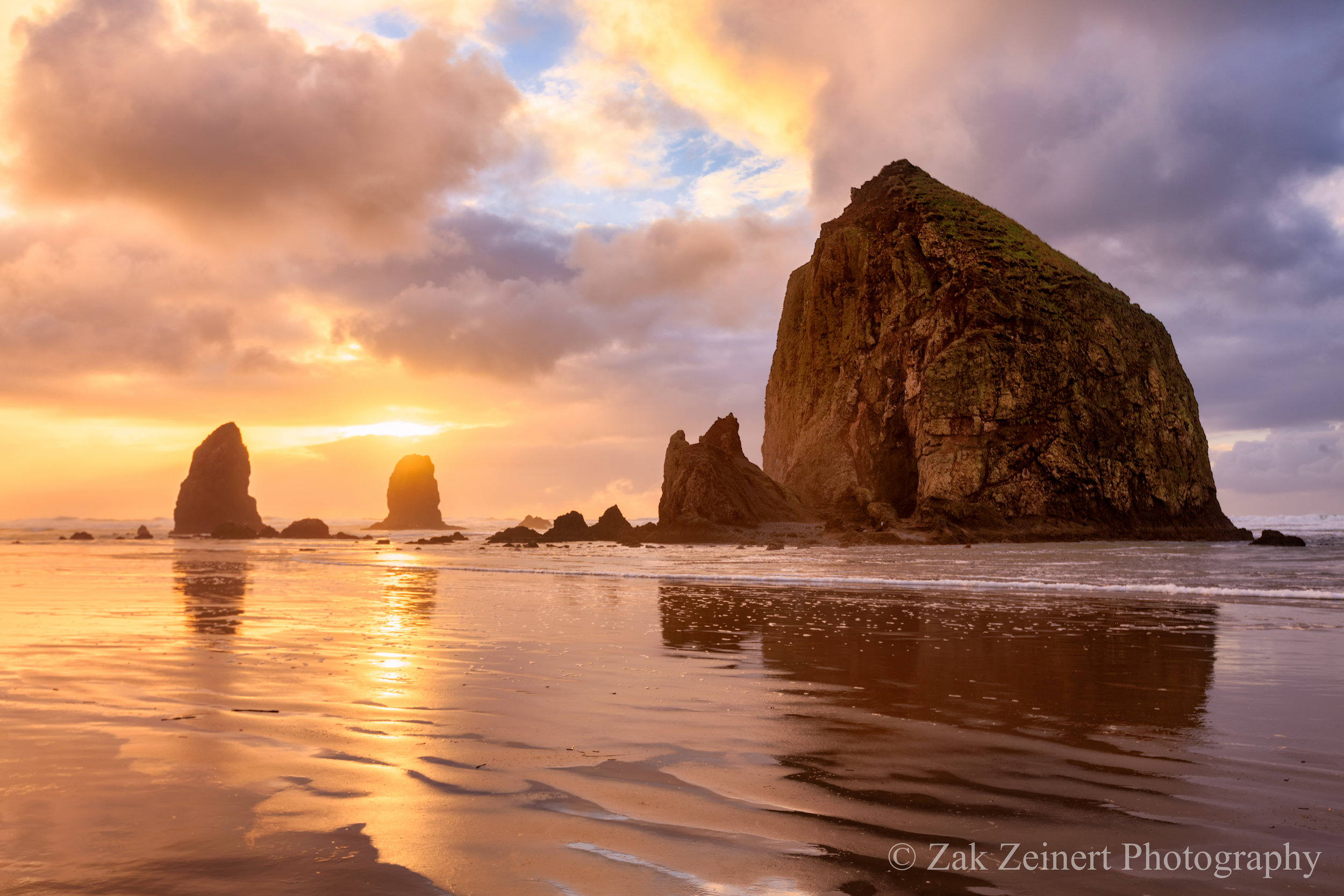 Day 1 on the Oregon Coast - Haystack Rock at Cannon Beach