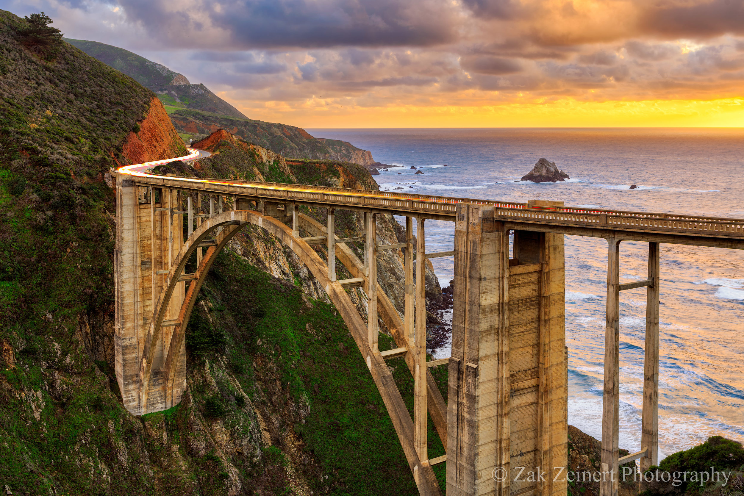 Bixby Bridge in Big Sur. Last photo I ever took with my 24-70 f/2.8 lens.
