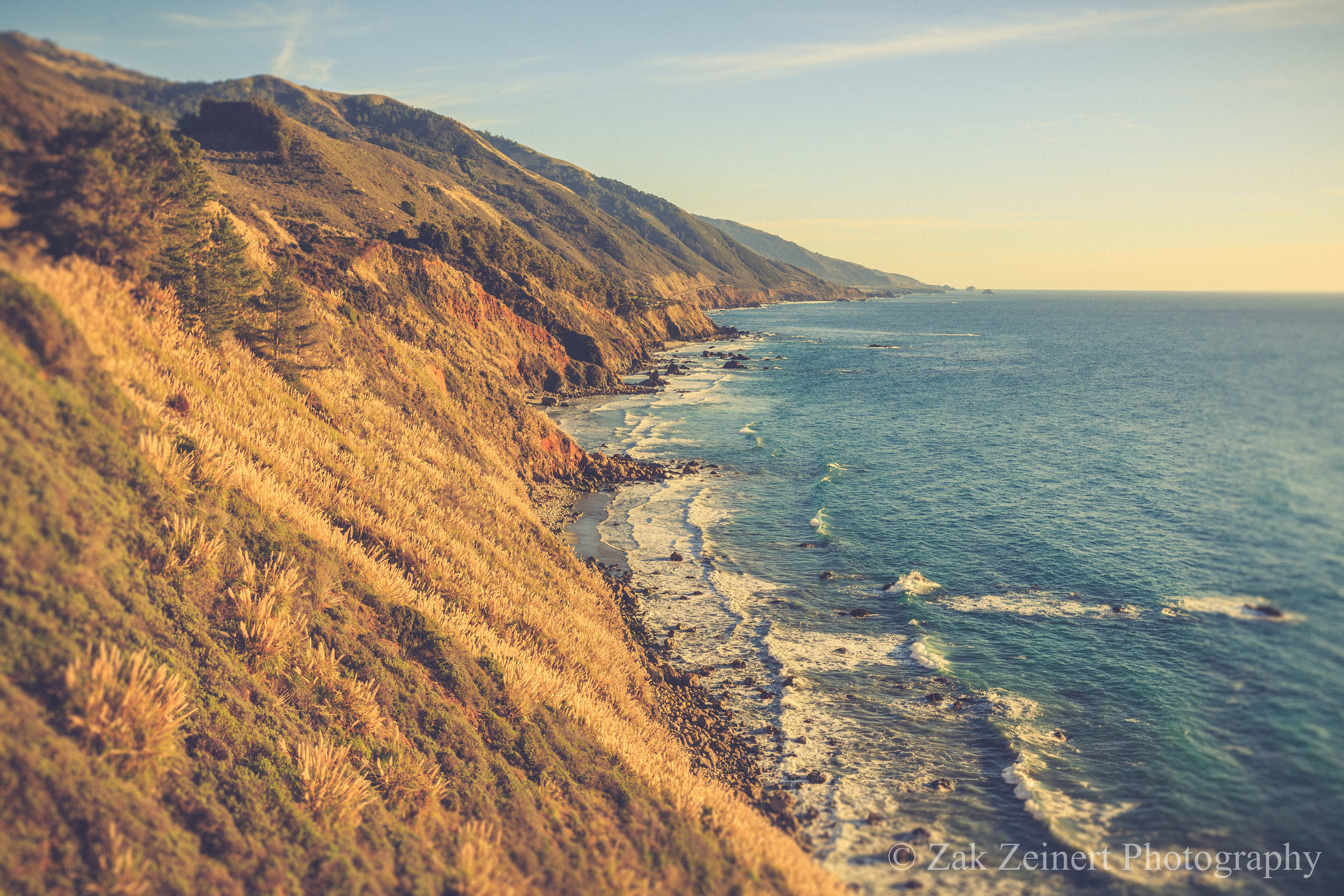 Big Sur as seen from the Pacific Coast Highway