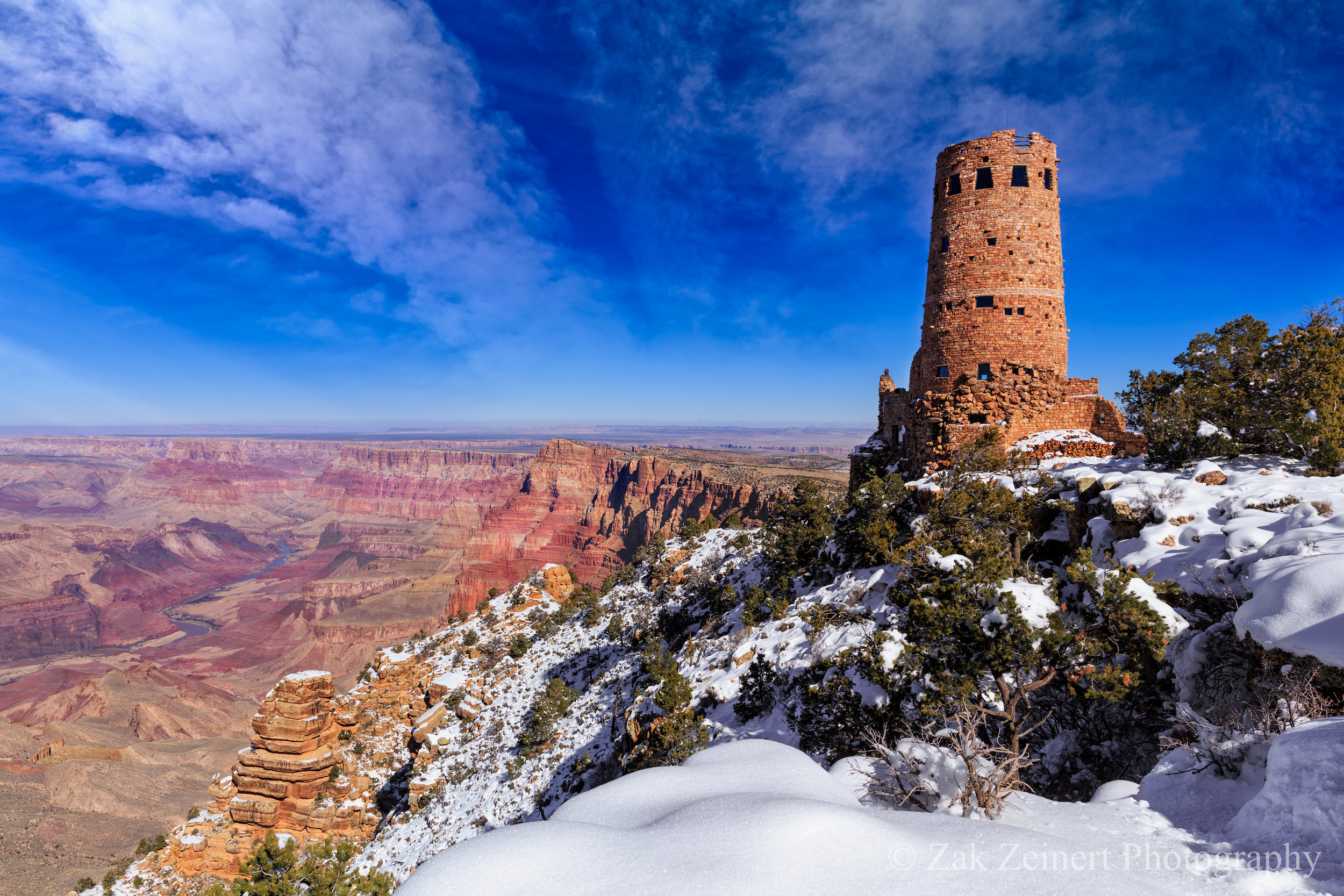Desert View Watchtower at the Grand Canyon