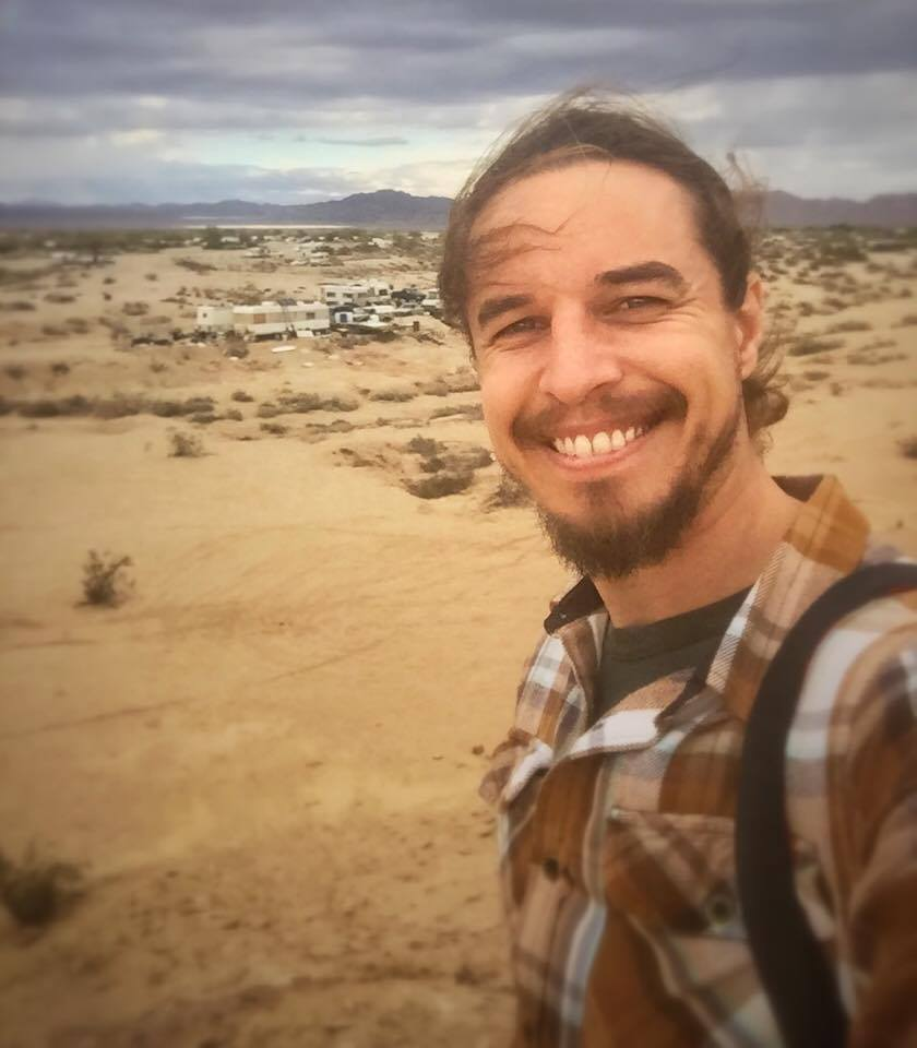 Out exploring Slab City
