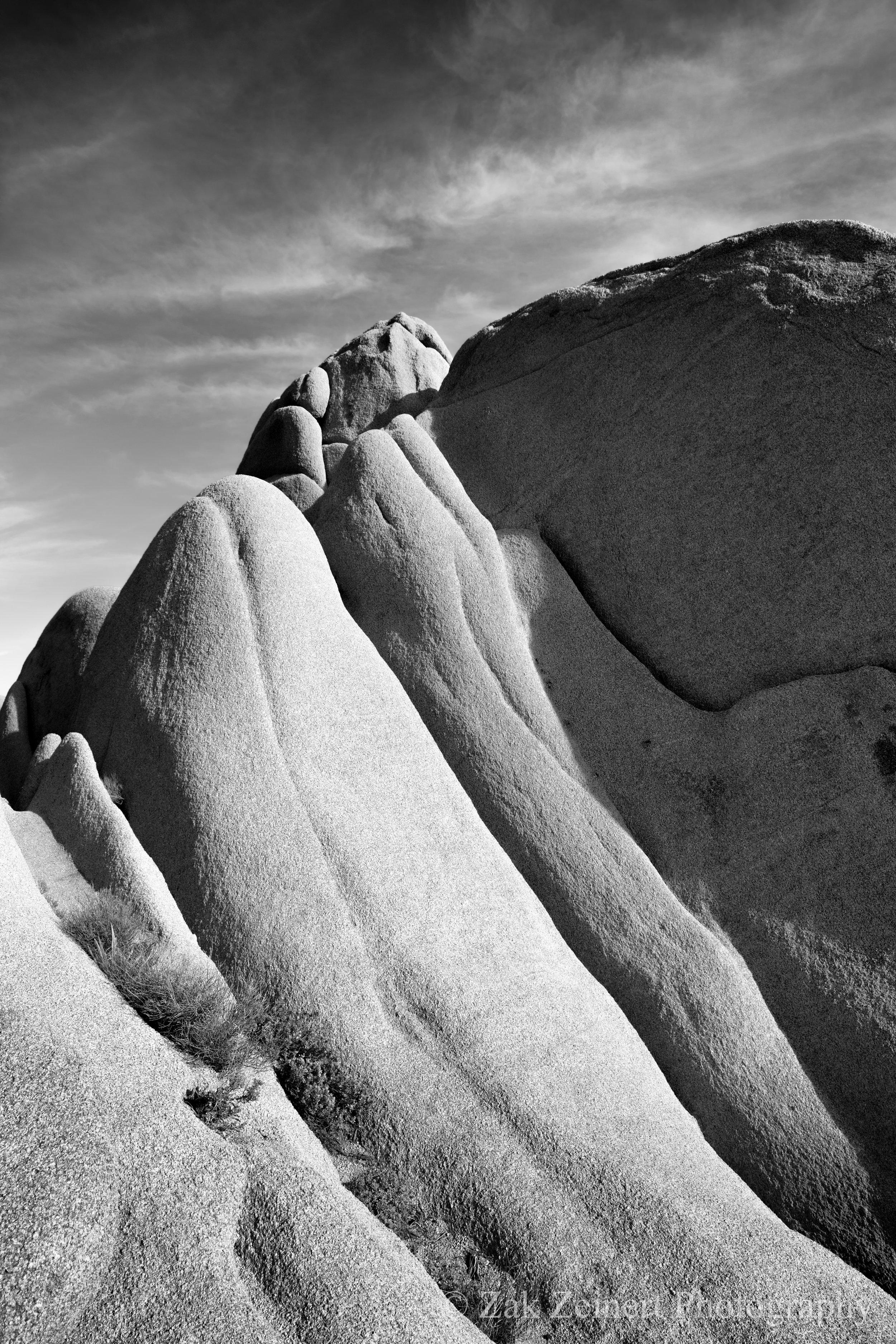 Boulder in Joshua Tree