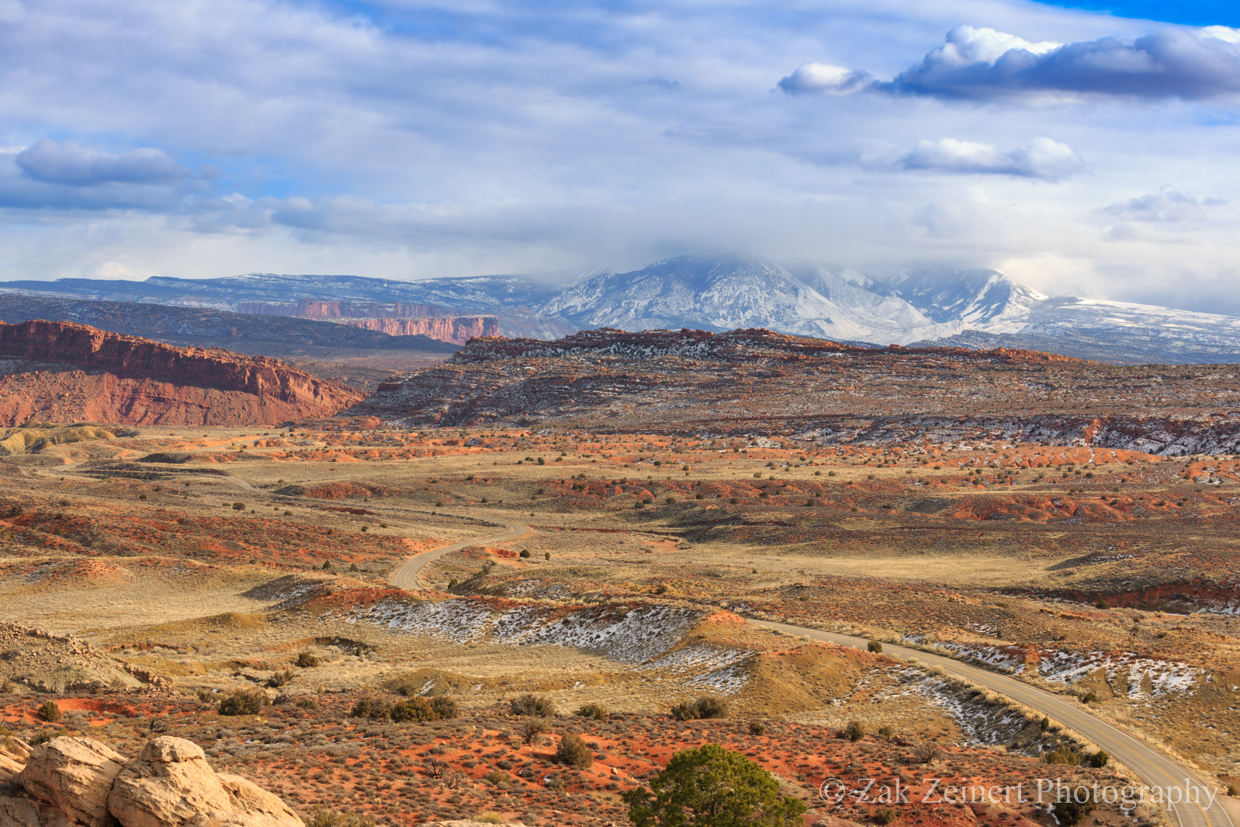 The beautiful state of Utah. Taken while driving around Arches National Park