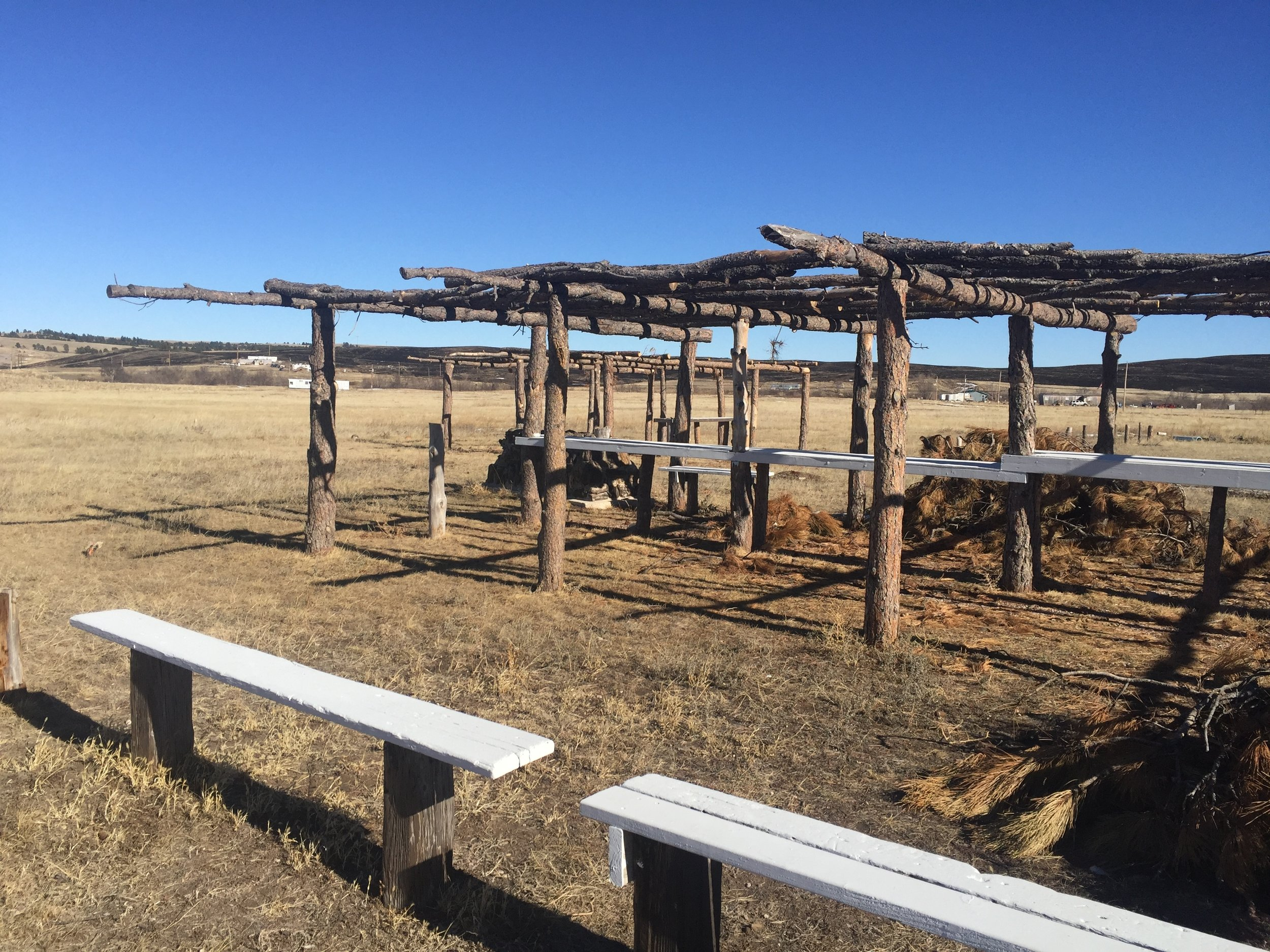 Site of Wounded Knee Massacre