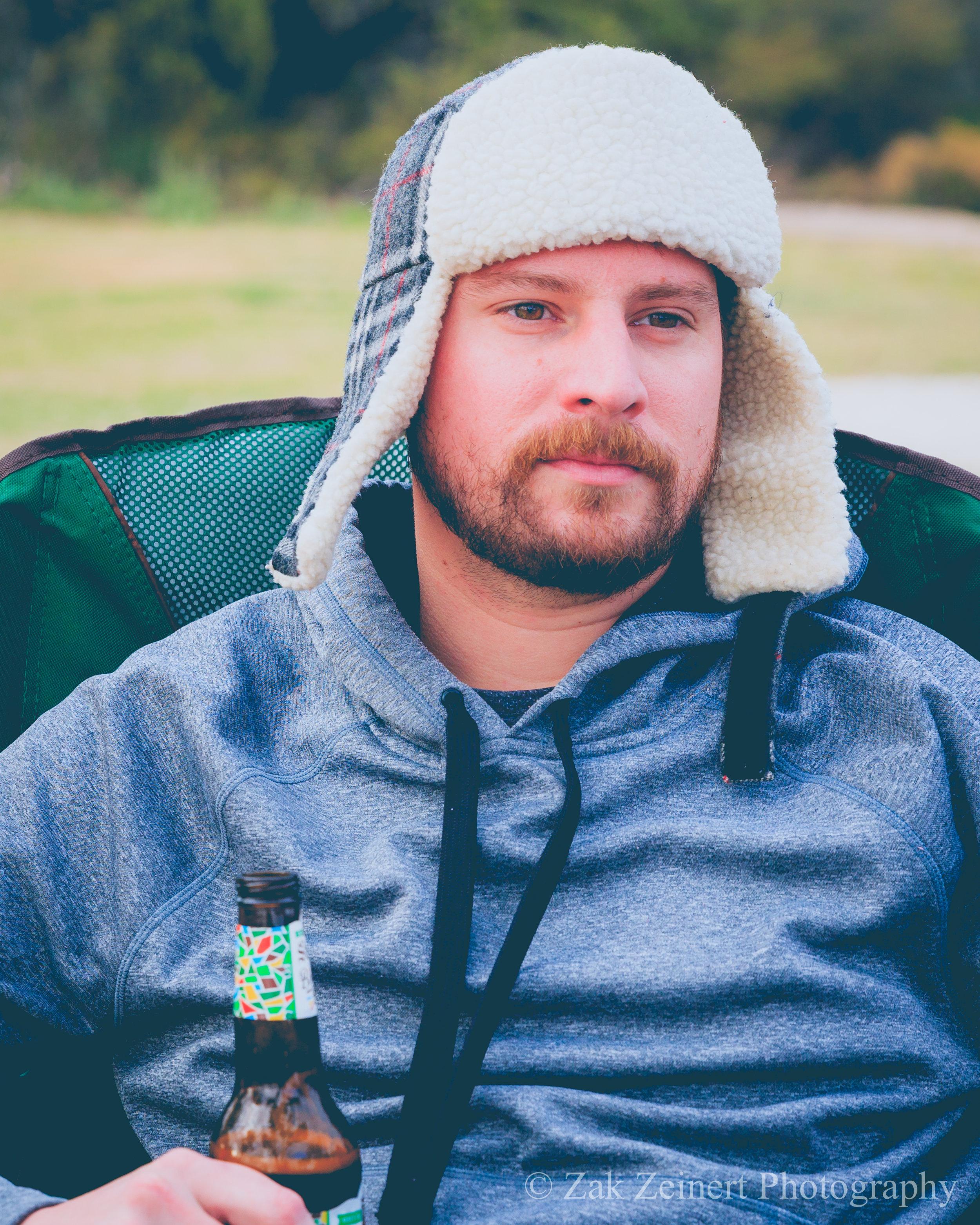 Scott looking deep at camp