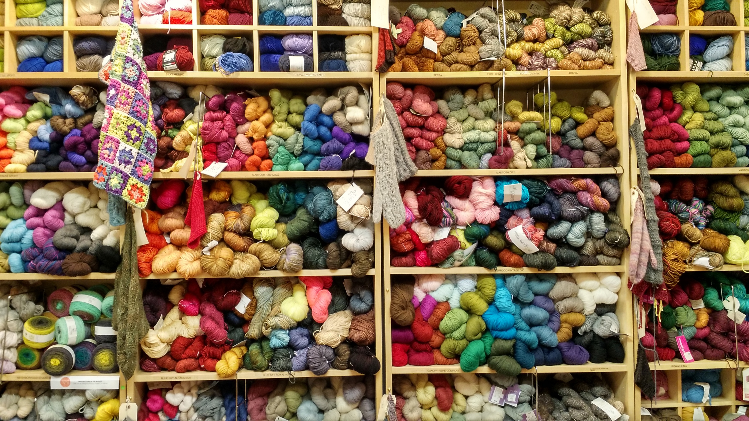 Knitty City Shelves