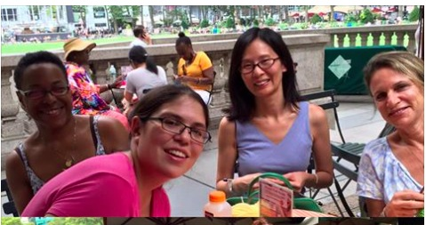 Bryant Park Knit Group - 8/17/16