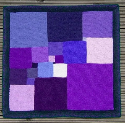 Square Deal  : the smallest possible example of a square divided into smaller squares, where the sides of each of the squares are all whole numbers, and where no two squares are the same size. Photograph: Pat Ashforth