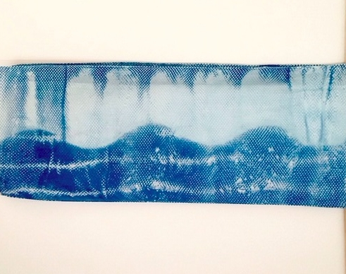 """To see """" Indigo wave""""and other scarves, visit  www.sevensistersarts.com  Just click on the search button and enter shibori scarves."""