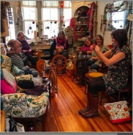 Spinning Afternoon @ Hope's Favorite Things