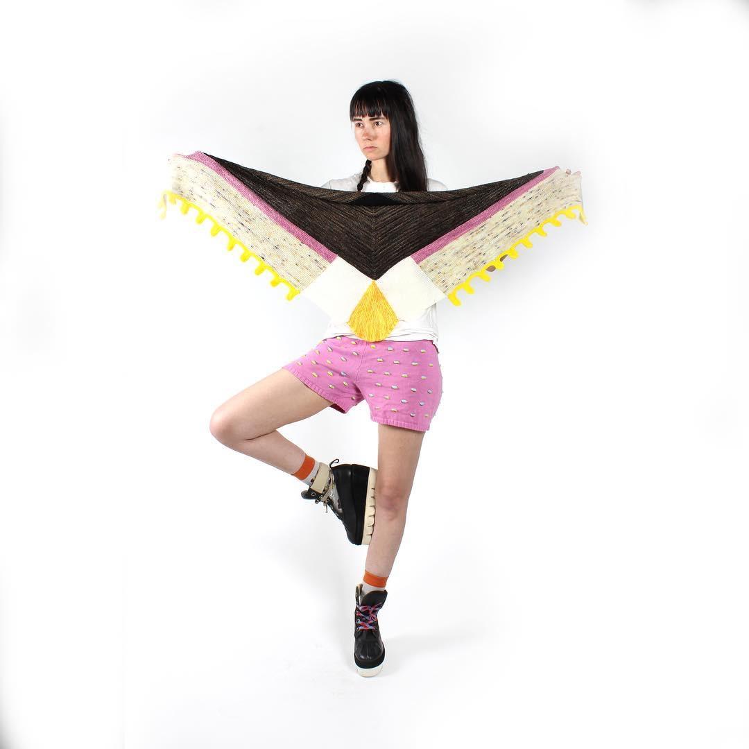Wonderous Moth Shawl