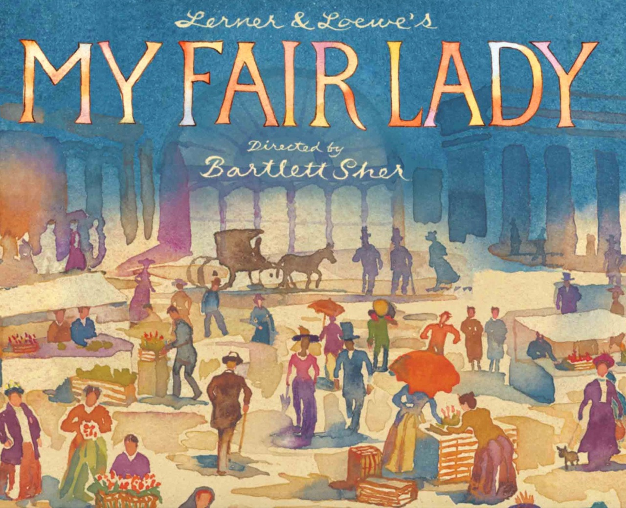 Auction Item 06: My Fair Lady - 2 tickets Saturday Matinee for Saturday September 8, 2018.  Value: $354.--