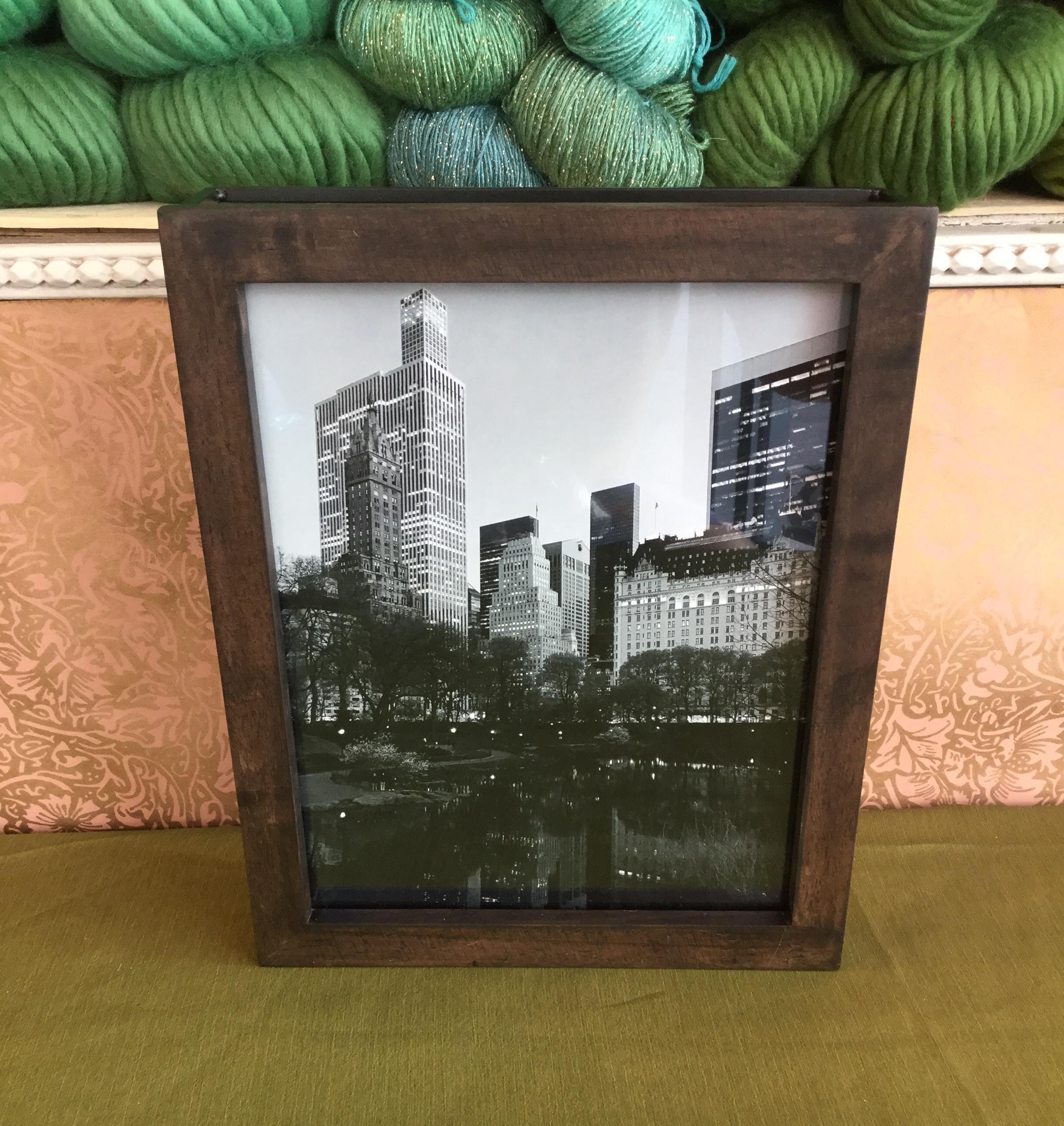 Framed Photo  Value: $50.-  Company:  City Stitchette