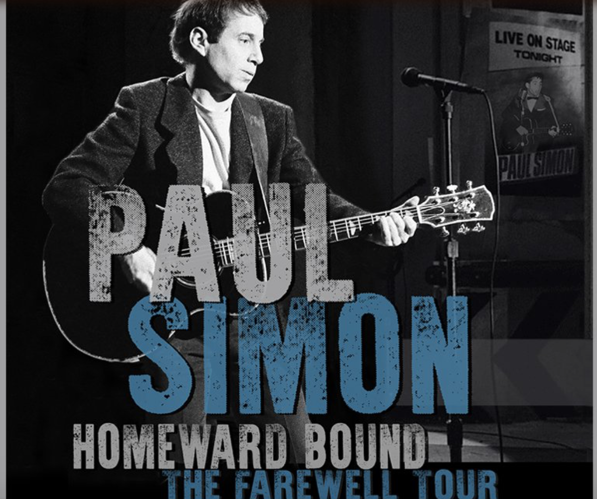 two tickets for the Paul Simon Homeward Bound concert at Madison Square Garden for September 20th.  Value: at the price of $115.00 per ticket, a total value of $230.00. There will also be two T-shirts from this concert tour included.