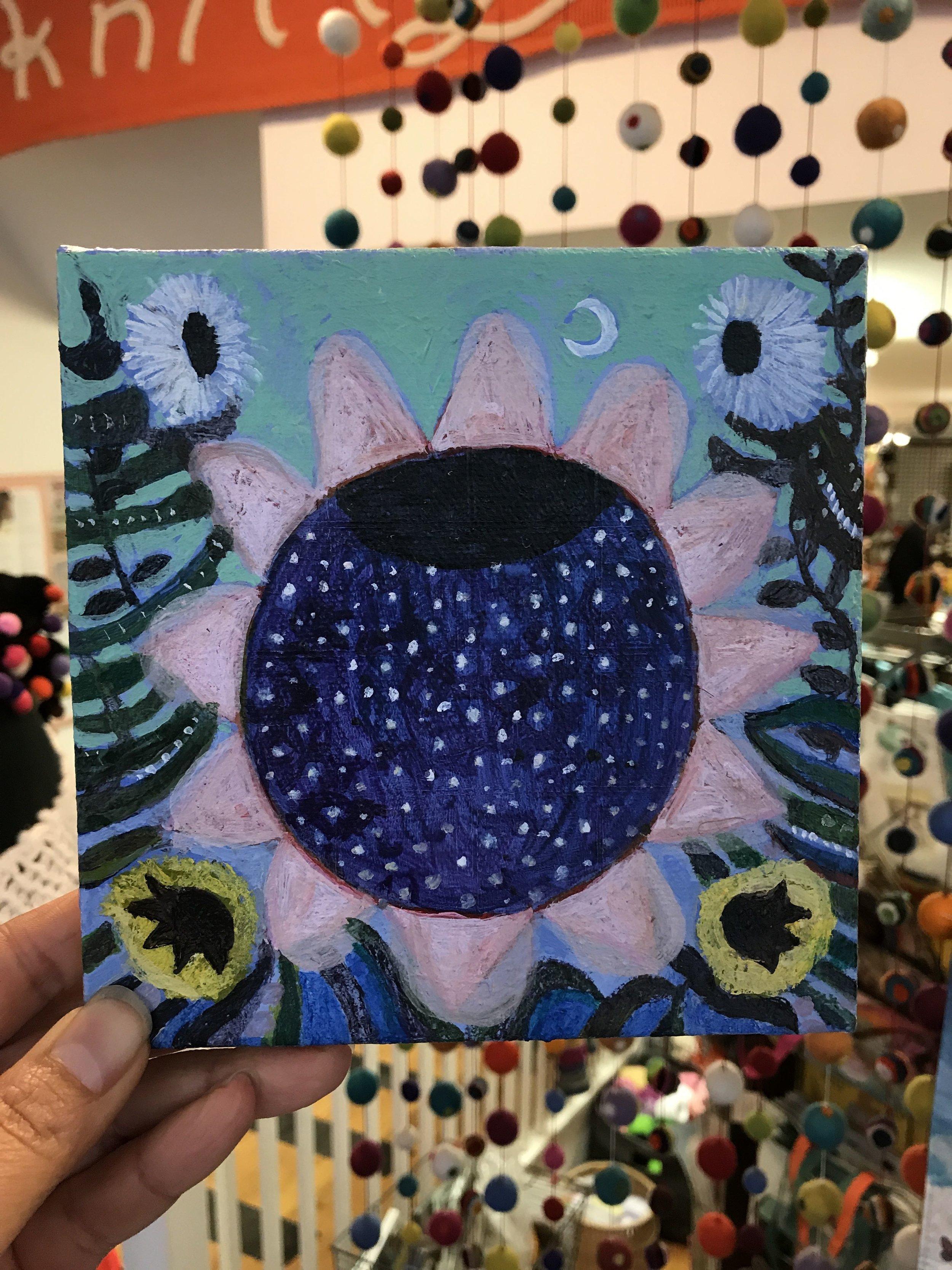 Painting by Caroline Blum   Value $200.-  Starting Bid $100.-