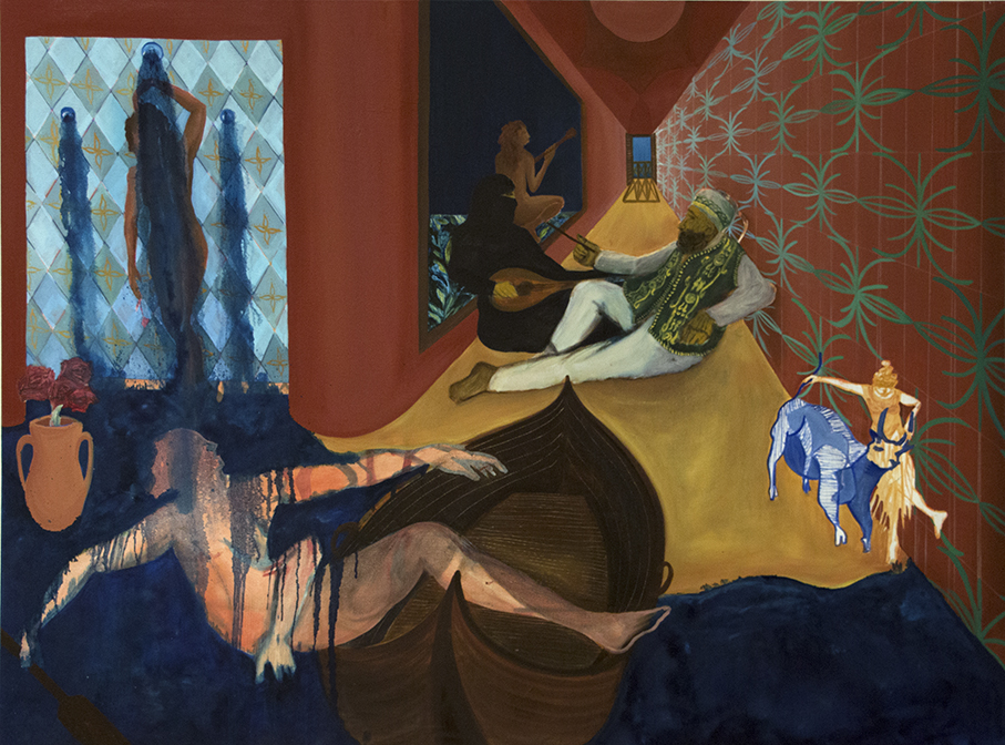 Orientalism   Oil on canvas, 73x109 cm /29x43 inches