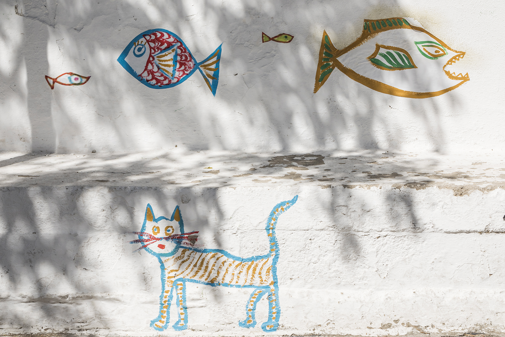 Photo by Margarita Nikitaki  Drawings by Kyvèli Zoi