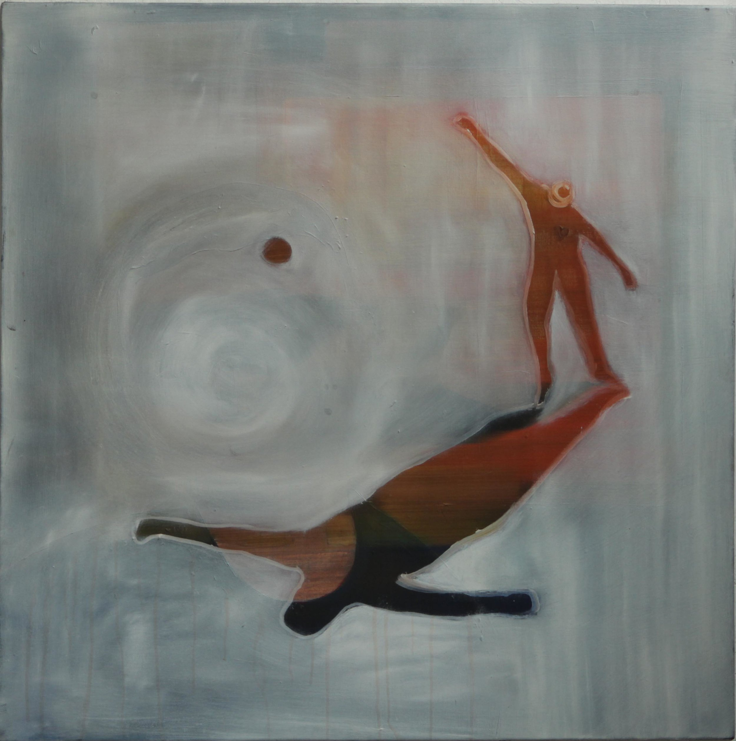 Resist   Oil on canvas, 70x70 cm