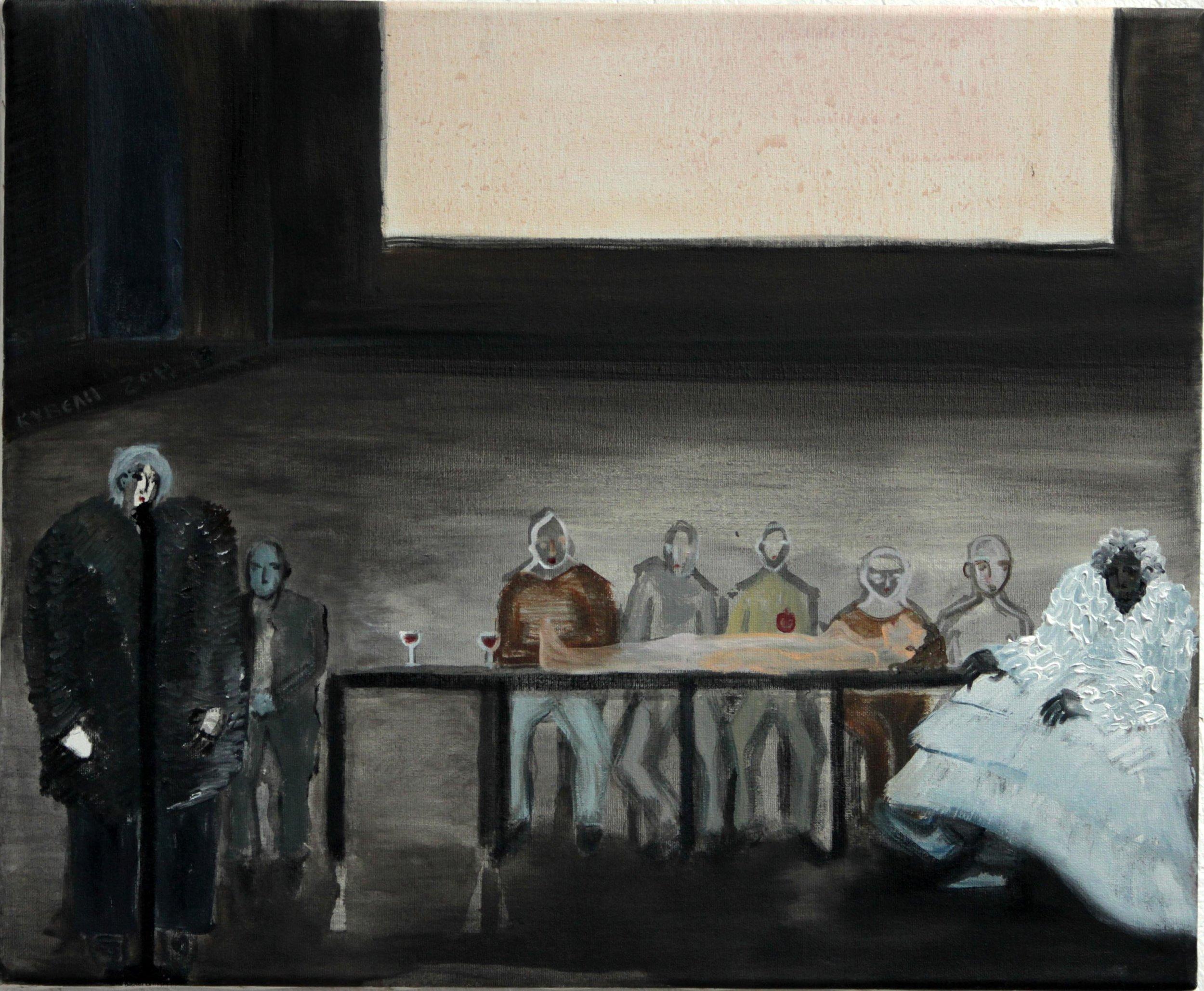 Don Juan No1   Oil on canvas, 45x55 cm