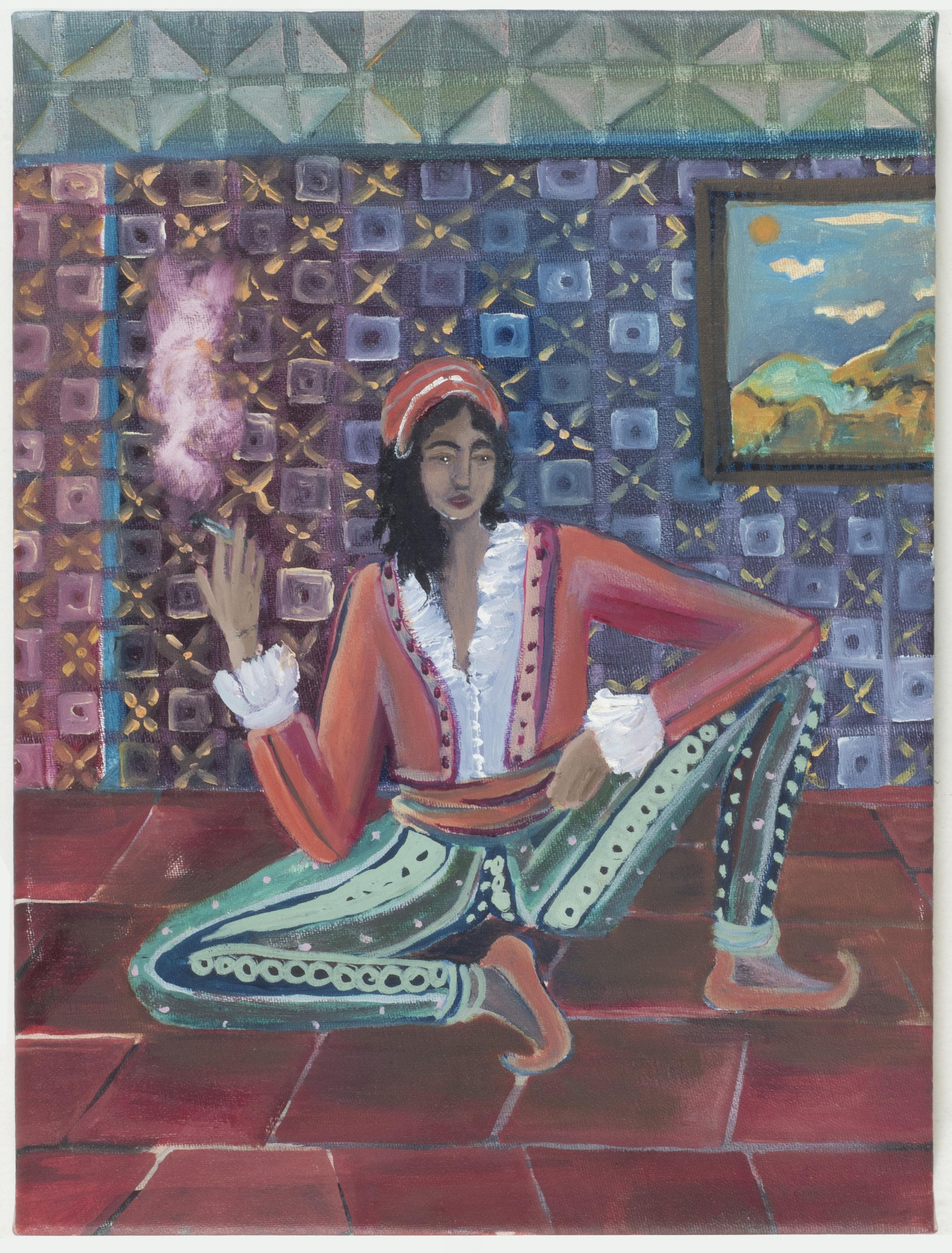 Chanoum No1 (Χανουμάκι Νο 1)   35 x 25 cm / oil on canvas