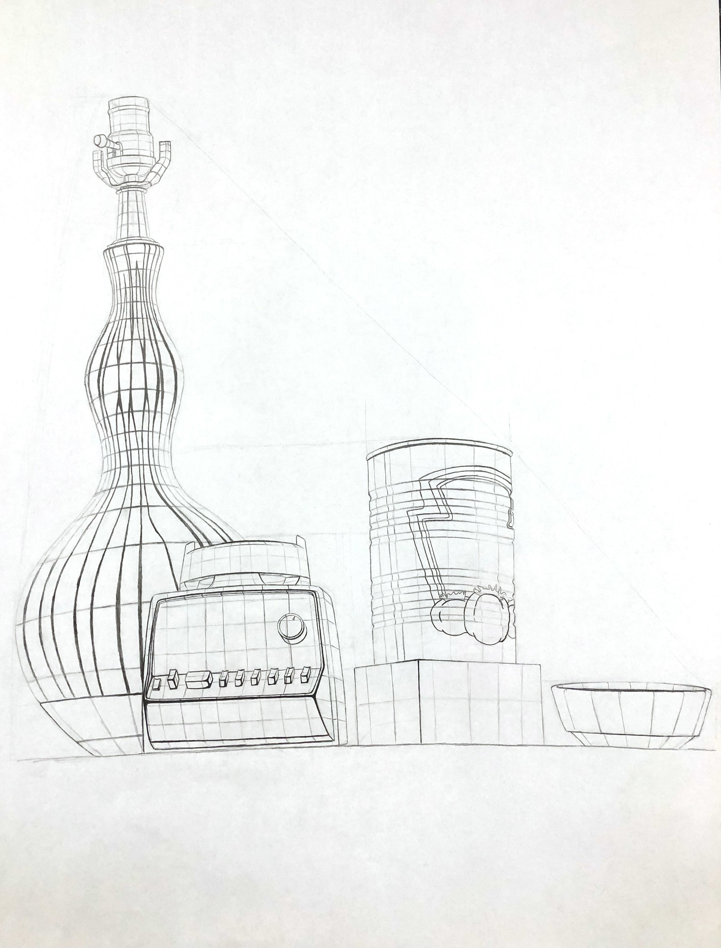 Observational Planar Analysis Drawing
