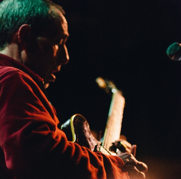 """Brooklyn-based guitarist   Joel Harrison   releases Angel Band, the third cd in a series where Country and Appalachian music is recast in a modern jazz context. Joel Harrison: guitars, voice   Anthony Pirog  : guitar Jerome Harris: bass Jeremy Clemons: drums    Saturday Sept 22: 8pm $20 $10 student — no advance tickets — pay cash at the door  2 sets  In 2003 and 2004 Harrison recorded Free Country and So Long Second Street on the ACT label. These recordings, which featured Norah Jones, David Binney and others, seemed to defy any effort at categorization, marking Harrison as one of the most distinctive voices in contemporary music.They were widely honored and many listeners wondered if Harrison would ever play this music again. He now revisits this concept with Angel Band, enormously diverse and imaginative arrangements of timeless tunes by Bill Monroe, Bob Wills, Olabelle Reed, Johnny Cash, and more. Each song bears a unique imprint, wherein Country, African rhythms, R&B, avant garde, rock and psychedelia all beautifully conjoin. The band is a """"who's who"""" of the modern jazz scene, some of whom played on the previous cds including David Binney, Stephan Crump, Brian Blade, Darol Anger, Alecia Chakour, and Uri Caine. Joel Harrison has been called """"protean and brilliant"""" by the New York Times, and the London Times called the first Free Country cd """"as original a vision as you are likely to encounter all year."""" Harrison will strip down to a quartet for these shows. Featured performers are the great bassist Jerome Harris, who has performed and recorded with Sonny Rollins, Jack DeJohnette, and Bill Frisell, and Wash. D.C. based Anthony Pirog, who is a powerful, innovative new voice for his generation and a bandmate of Harrison's in the three Telecaster group """"The Spellcasters."""" The two guitarists, who share an array of influences, frequently seem to be reading each other's minds! And finally the phenomenally grooving Jeremy Clemons, who played on Harrison's Mother Stump (Cu"""