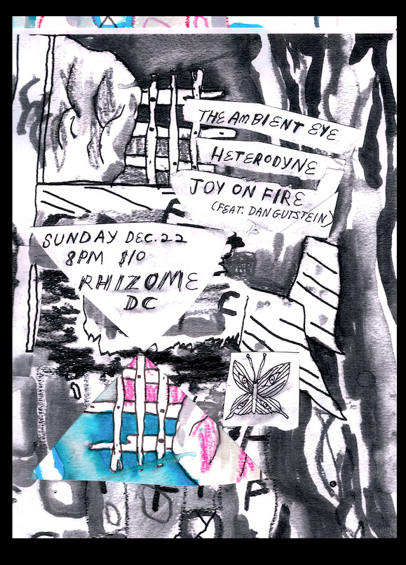 flyer by Emily Vaughan Brown