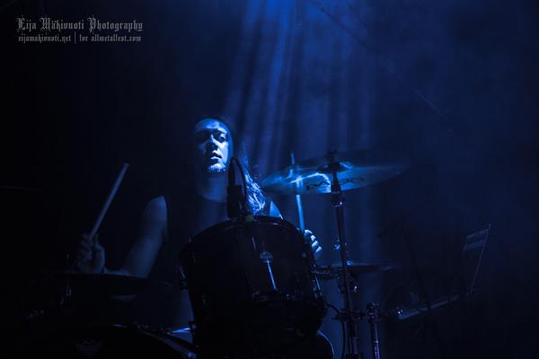 Alcest: Korjaamo, Finland, 2014. Photo: @ Eija Mäkivuoti.