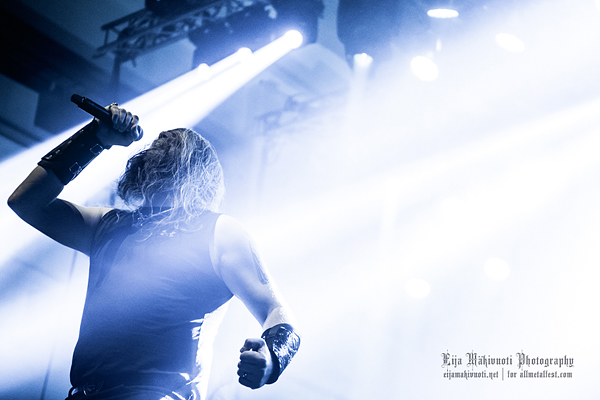 Amon Amarth: Kaapelitehdas Finland, 2014. Photo: @ Eija Mäkivuoti.