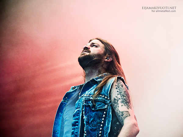 Iced Earth: Jalometalli Festival 2012, Finland  .  Photo: @ Eija Mäkivuoti.