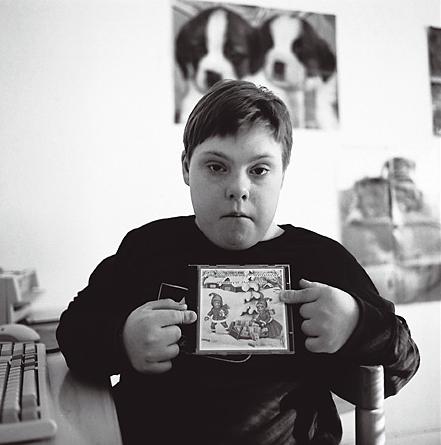 Juha likes Christmas carols, 2002