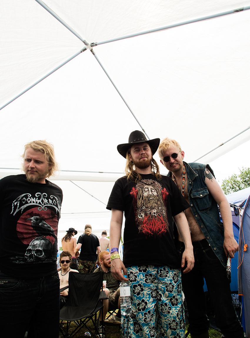 Wacken Metal Battle 2012: The next morning, hang over.   Photo: © Eija Mäkivuoti.