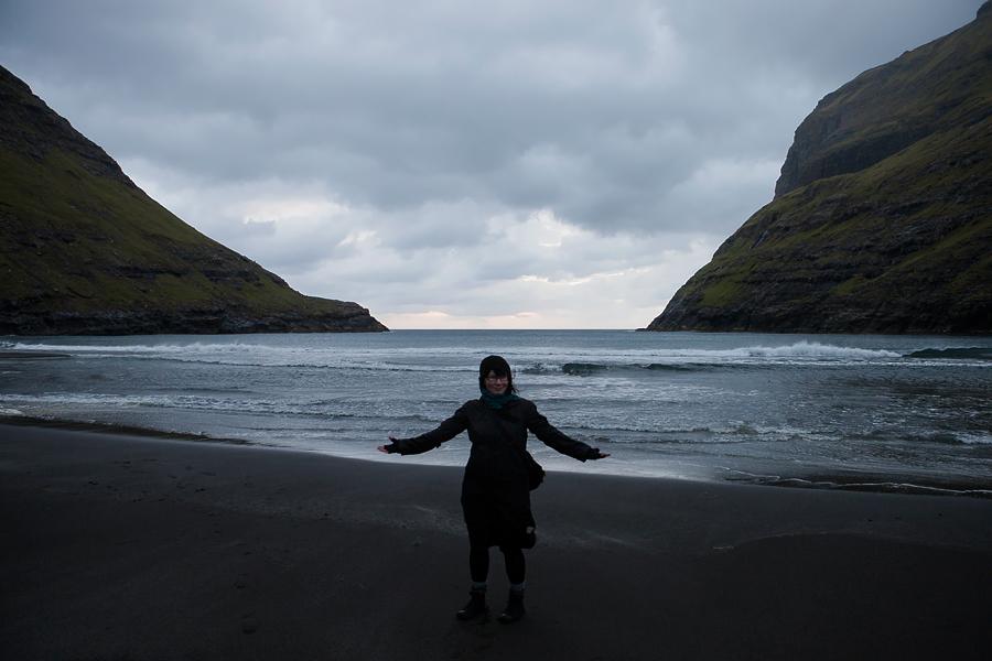 Me in Saksun, Faroe Islands in 2011.