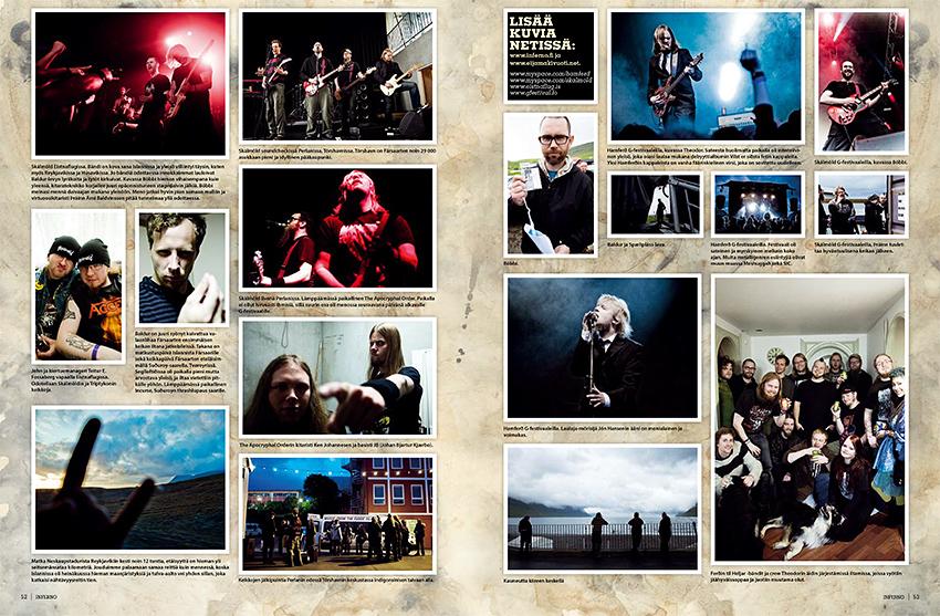Hamferð: Promotional Photo, Shot in Mjørkadalur, Faroe Islands, 2012. Photos & text: © Eija Mäkivuoti.