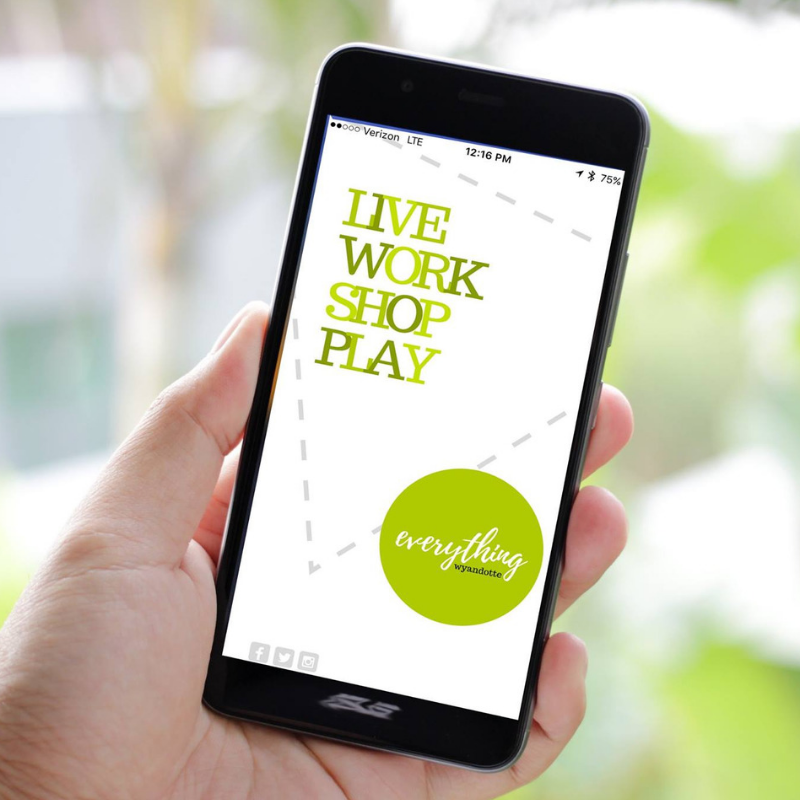 EverythingWyandotte Mobile App - Mobile App, Editorial, Social Strategy | LEARN MORE