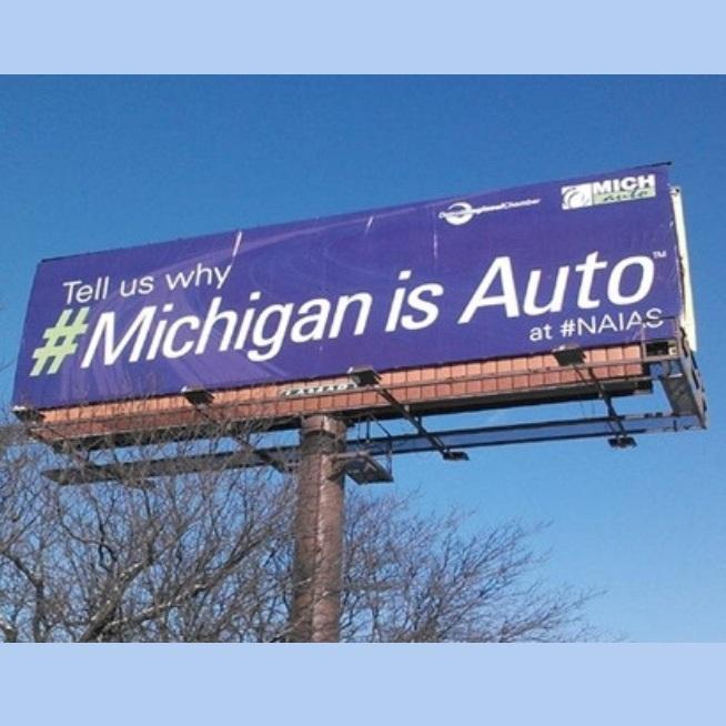 #MichiganIsAuto User Generated Content Campaign - Social Media Campaign | READ MORE