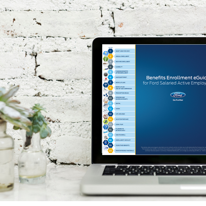 Benefits & Enrollment Guide (v1) - Content Writing & Design